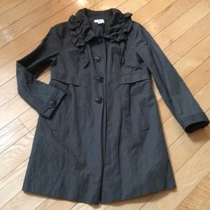 LOFT Olive Green Trench